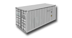20ft general purpose container